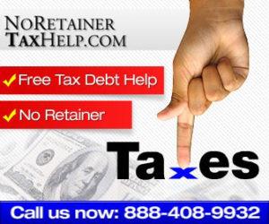 No Retainer Tax Help