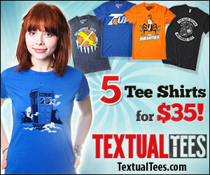 Textual Tees